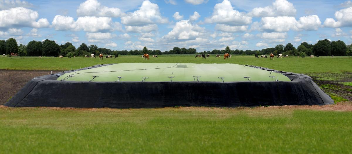 Wiefferink - Ecobag (slurry and digestate storage) ammonia reduction